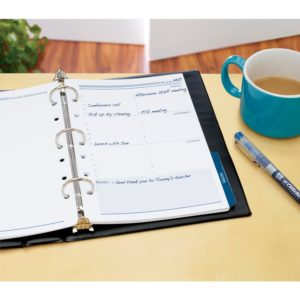 If you're looking for a cheap way to add inserts in your planner, I love Avery products.