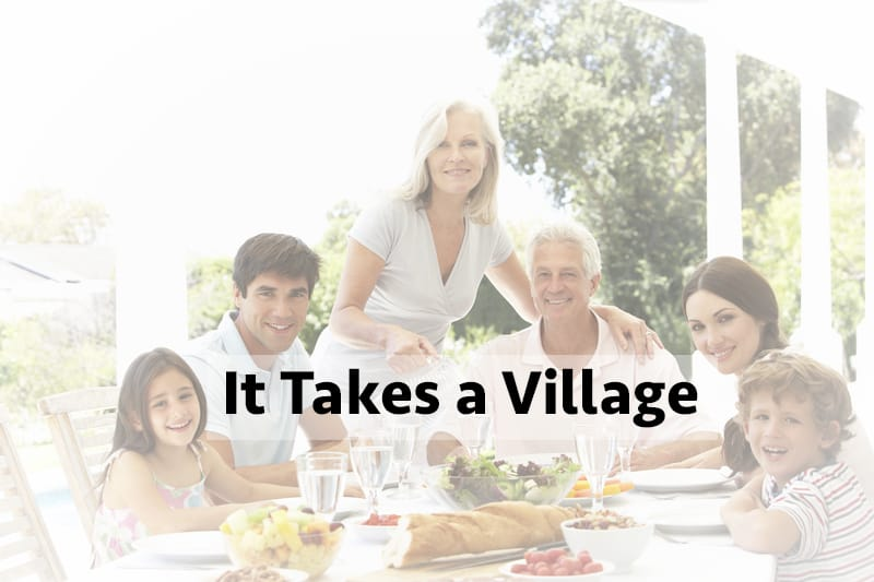 It Takes a Village to Raise Happy Kids