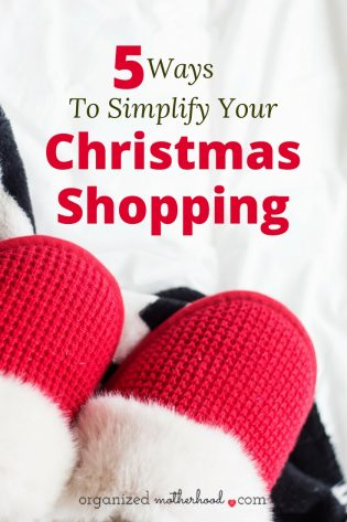 Looking for ways to save time and money while getting ahead on Christmas shopping? These 5 tips have made holiday gift-giving so much easier!