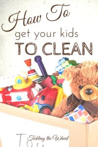 Monsters, hiding, and counting? Unique ways to get kids to clean