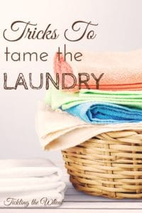 Looking for a way to make the laundry magically disappear? Aside from throwing away clothes, there's no a magical solution, but these tips and laundry hacks may help.