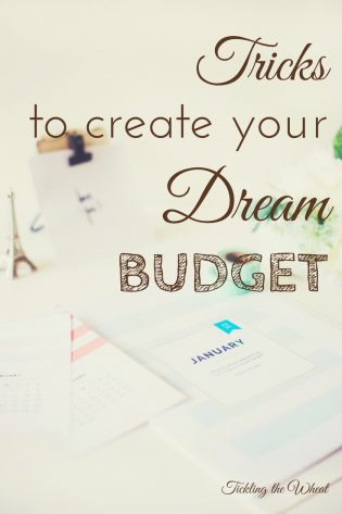By breaking your budget down into manageable sections, you'll start creating your dream budget. Break your budget into these 5 sections to reach your dreams