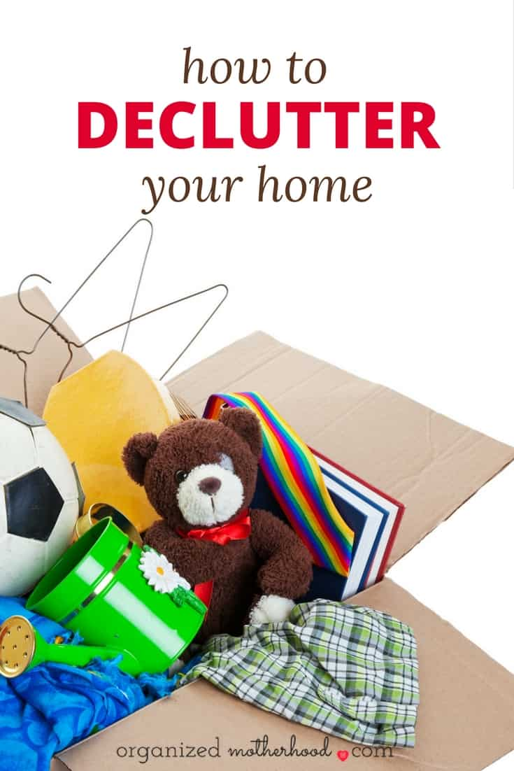 These decluttering books make decluttering your home so much easier. Learn how to declutter and organize every room in your house and finally have a clutter-free home, even if the KonMari technique didn't work for you!