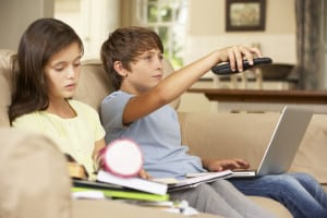 Children may suffer negative consequences from watching TV