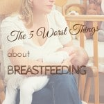 Breastfeeding isn't always what it's cracked up to be.