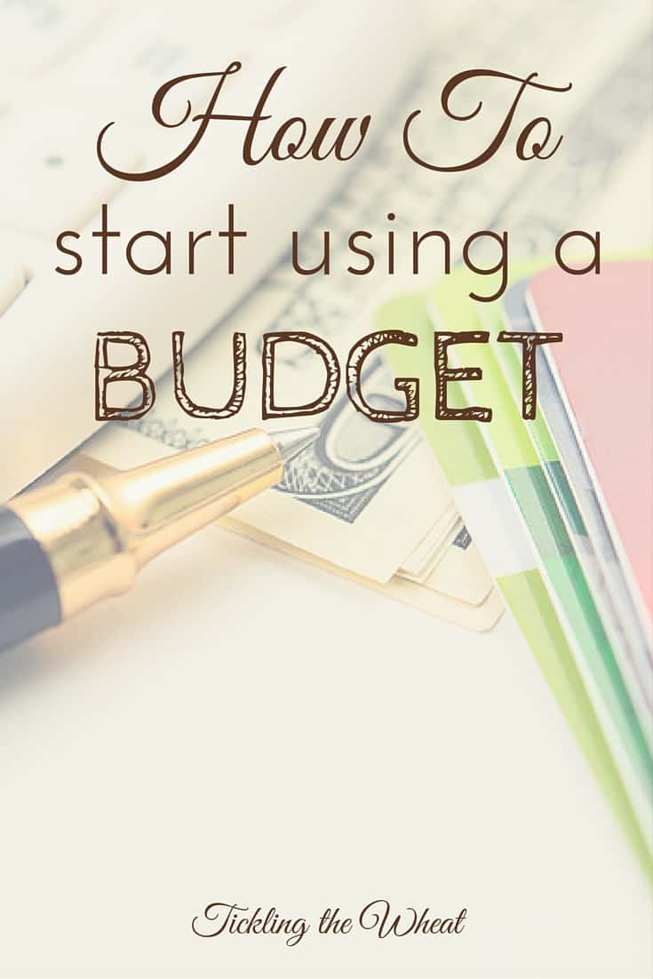If you're new to budgeting, or even if you have a budget but it's not working for you, try these three steps to start using a budget.