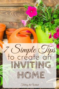 An inviting home is a wonderful place to relax and enjoy life, but it's important to do it for yourself as well as your guests. Read these 7 simple and frugal ways to create a happy home.