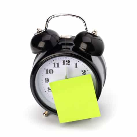 Choosing your start and end time is an important part of creating an effective morning routine.