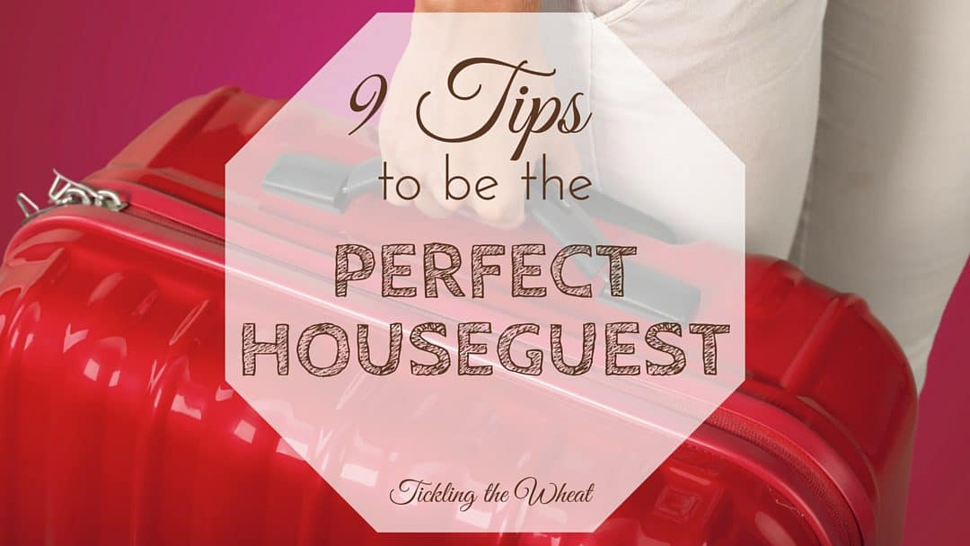 Visiting friends and family is a great way to travel, but houseguest etiquette is always a concern. With these tips, you won't have to worry about being a good guest!