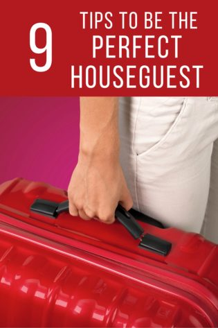 I've always loved visiting friends and family, but I always worry about houseguest etiquette. With these tips, I don't have to stress about being a good guest!