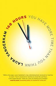 168 Hours will help you to realize that you may not be using your time as well as you think. This book helped me figure out how I was spending my time and how I could be more productive with the time that I had.