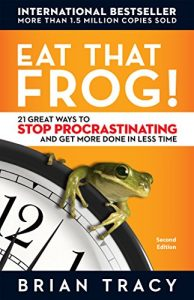 Eat That Frog is a great book to help busy women be more productive and organize their lives.