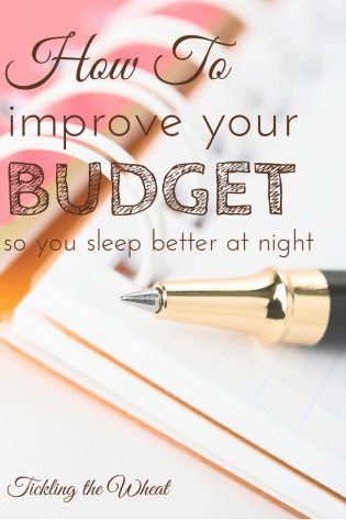 Tired of spending all night worrying about your finances? Since trying these 4 tricks, it's easier to create and stick to a budget.