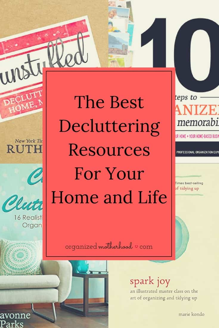 These decluttering books changed the way I clean and organize my home. They teach so much more than just storage solutions!