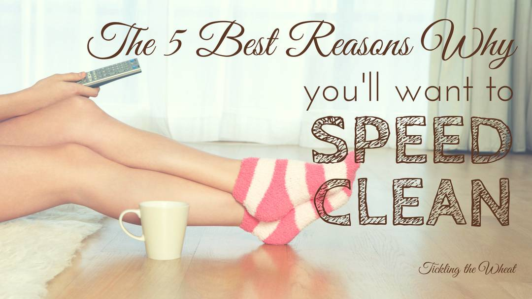 Speed cleaning saves so much time in the long run. When a quick cleanup at the end of a long day is the last thing I want to do, these reasons inspire me to tidy up!