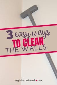 Cleaning the walls is a great way to make your home sparkle. Before your next holiday gathering, remove cobwebs and dust with these simple tips to clean the walls.