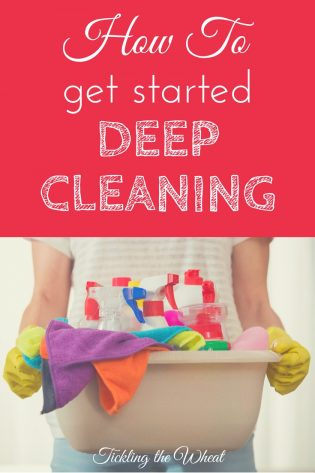 Need to deep clean but don't know where to start? By arming yourself with the right tools and planning ahead, you'll get through it!