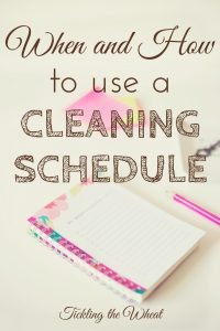 The thought of creating (and using) a schedule or routine of any kind might seem daunting, restrictive, and like it'll take more time than it's worth. But there are so many ways that a useful cleaning schedule can help you. Find out how to create your own cleaning schedule.