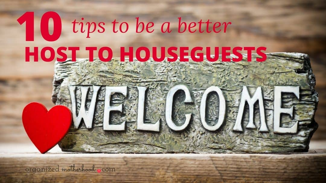 Make guests feel welcome with these 11 tips and ideas.