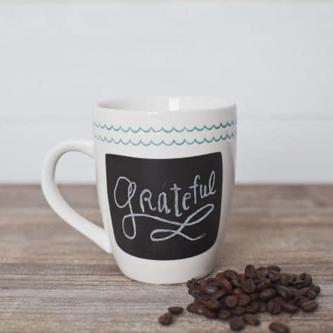 This chalkboard mug is such a cute gift idea.