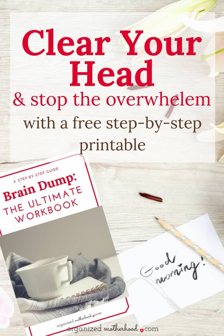 These free printable worksheets make it so simple to focus and stop the brain overwhelm. Print these out to use as the ultimate time management tool!