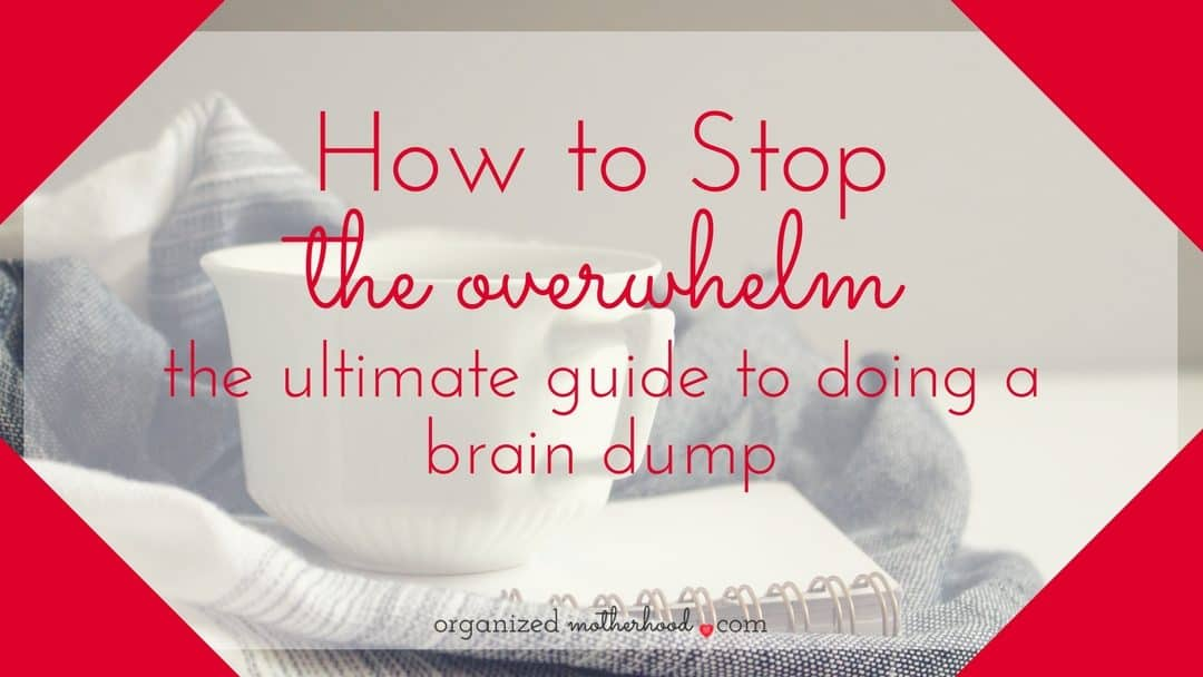 The Ultimate Guide to Doing a Brain Dump