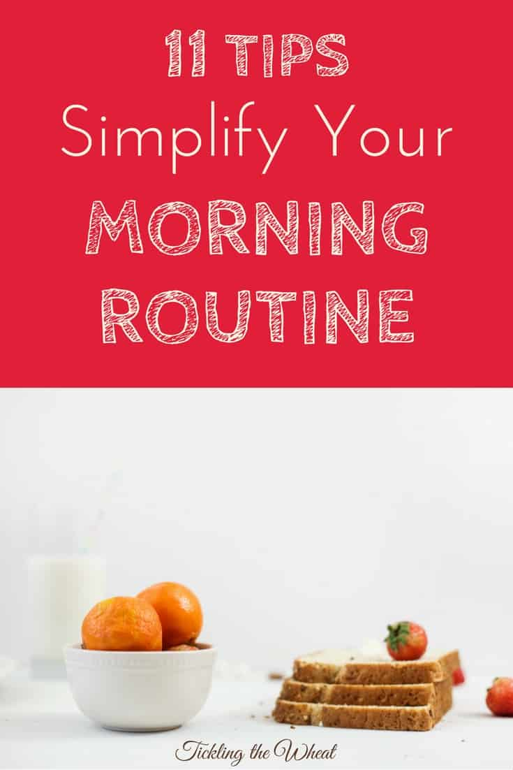 how to make a good morning routine