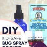 DIY bug repellant recipe