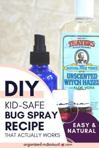 DIY bug repellant recipe