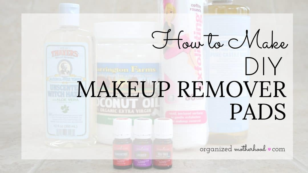 DIY Makeup Remover | How to Make Homemade Coconut Oil Pads
