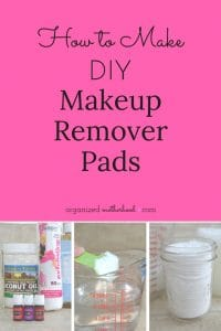 These easy-to-make makeup remover pads are amazing on every type of skin.