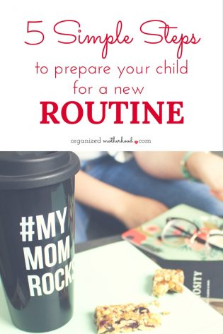 Getting adjusted to a new routine takes time, but these 5 tips can help your child get ready for school or start a new morning routine faster.