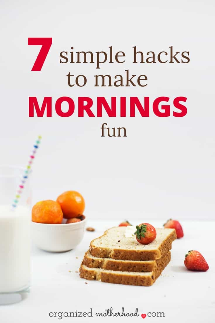 Love this fun list of ways to bounce out of bed and make mornings fun again! So many good ideas!