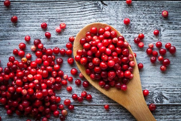 This simple cranberry sauce recipe is made with whole cranberries in the microwave