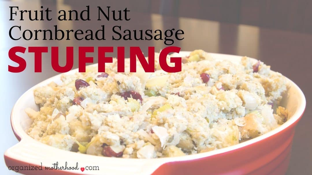 This stuffing recipe is an upgrade to the traditional Thanksgiving stuffing. With a hint of sweetness and crunch, it'll become your go-to holiday side dish.