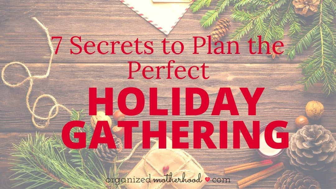 7 Secrets to Plan the Perfect Holiday Party