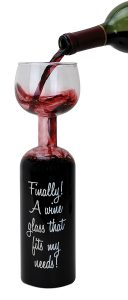 This wine glass is the perfect gift for the wine lover.