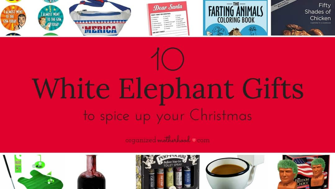 Hilarious gifts for your white elephant gift exchange