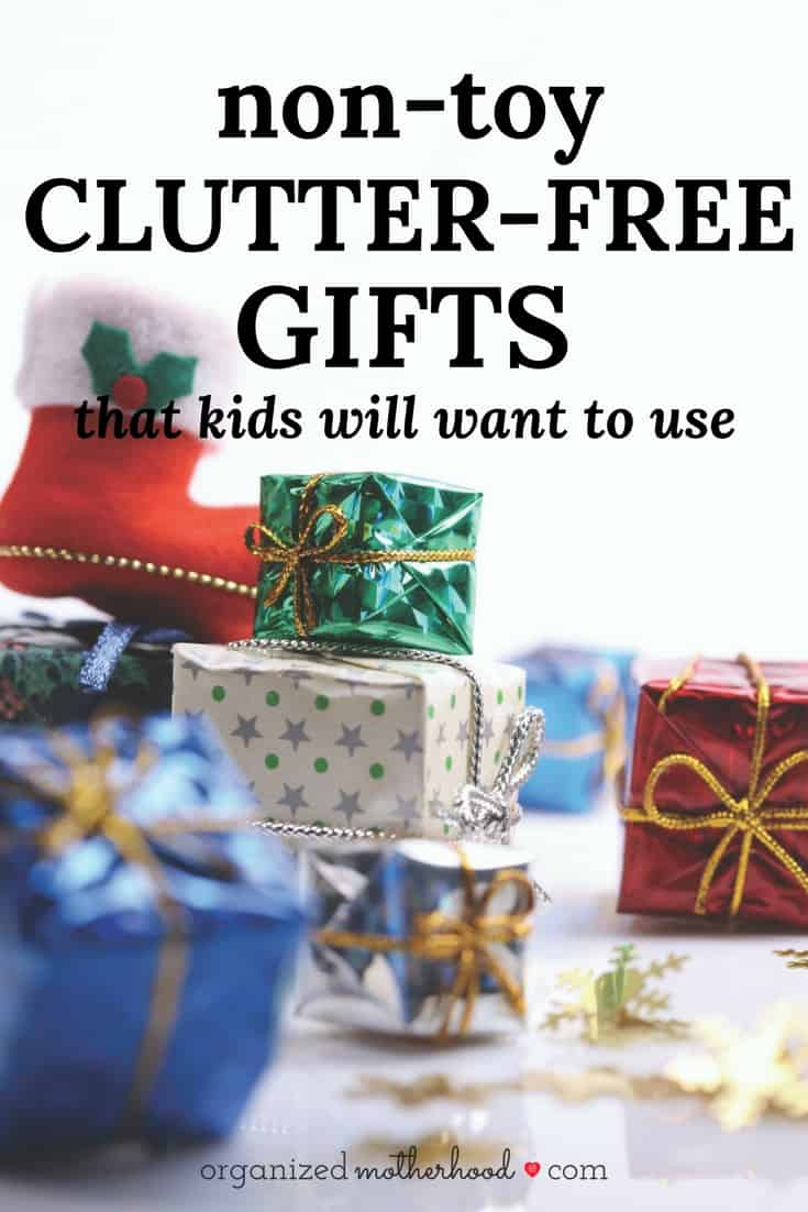Looking for clutter-free gifts for kids? These non-toy presents are perfect for Christmas.