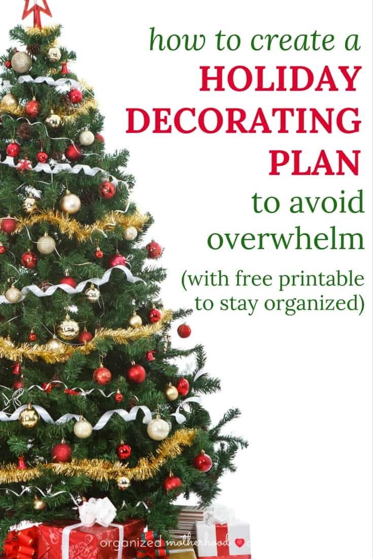 Getting ready for a holiday party doesn't have to end in disaster with these tips! Download a free holiday planner to make cleaning and decorating even easier.