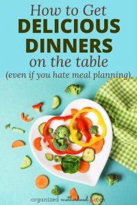 Hate meal planning but need to get dinner on the table in a hurry? These meal planning alternatives will have you creating easy, delicious meals in no time.