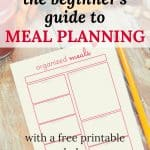 Meal planning is a great way to make sure you have dinner on the table every night - if you know how to do it. Learn how to meal plan and simplify family dinners.