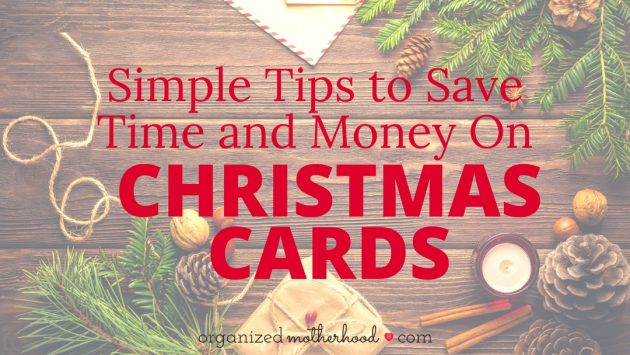 Sending Christmas cards doesn't have to break the bank or take a lot of time. Here's how to save time and money this year on your cards!