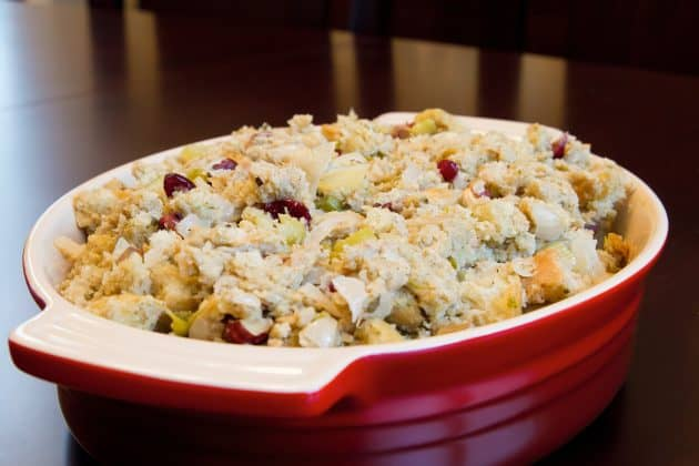 The Best Ever Fruit And Nut Cornbread Sausage Stuffing
