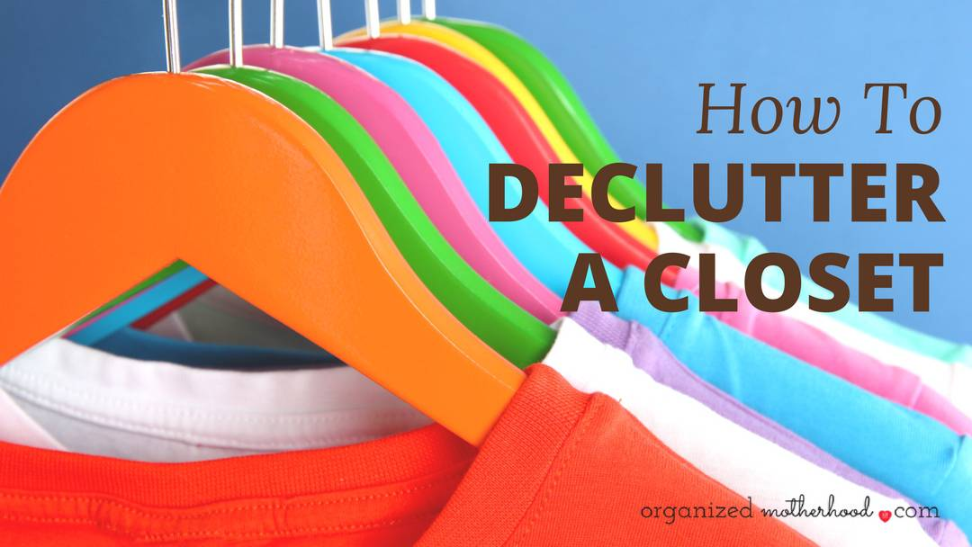 If you have a lot of clothes or a messy closet, it may be time to declutter. Get your closet organized with these easy tips and a free printable worksheet.