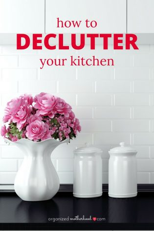 Declutter your kitchen with these tips. Even if you have a small space, these ideas will keep your kitchen organized and clutter-free.