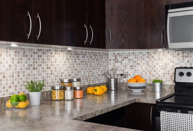 Keep your kitchen counters clear to create an organized and clutter-free kitchen.