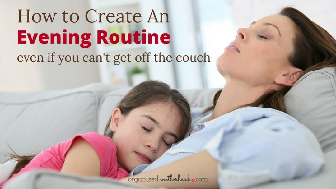 How to Create an Evening Routine When You Don't Want to Leave the Couch