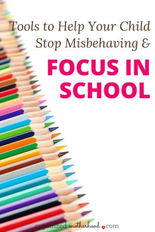 If your child has been misbehaving or getting in trouble at school, these tools and resources will help your child stay focused, calm, and pay attention.