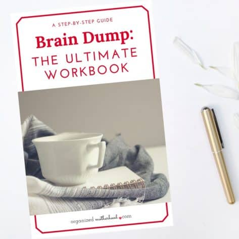 Clear your mind clutter with this ultimate, step-by-step guide to doing a brain dump. Organize your thoughts on the worksheets and make sure you're keeping track of every part of your to-do list.